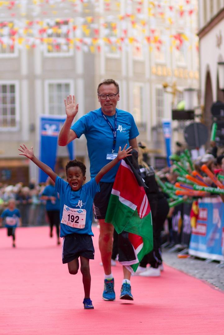 Stadtwerke Kids Marathon - Volksbank Münster Marathon
